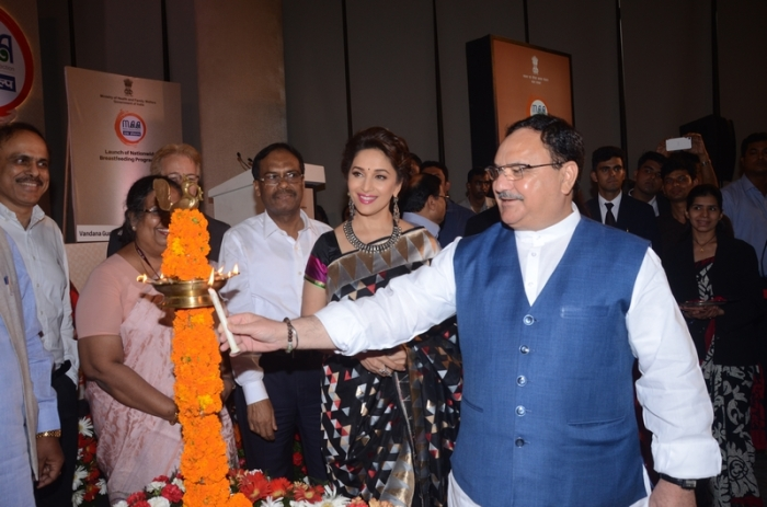 UNICEF_Celebrity_Advocate_Madhuri_Dixit_and_Hon_ble_Minister_JP_Nadda (1)
