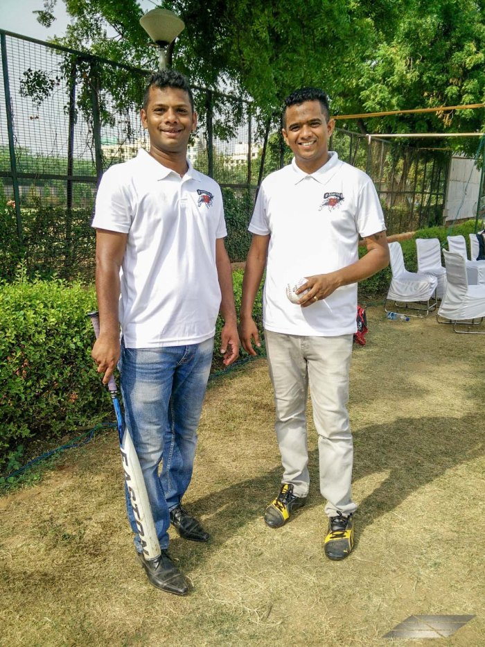 Mr. Britto Stephen, Organizing Secretary and Treasurer, Bad Bulls Sports Club and Mr. Anthony Vanarajah, General Secretary, Bad Bulls Sports Club-1