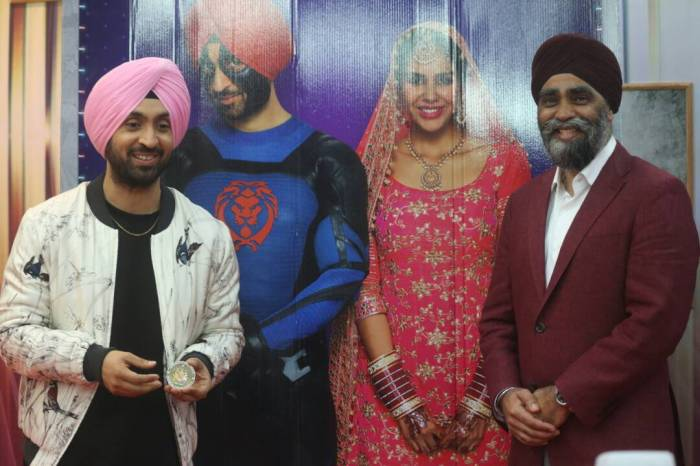 PIC.jpeg launches the second poster of Diljit Dosanjh_s Super Singh!