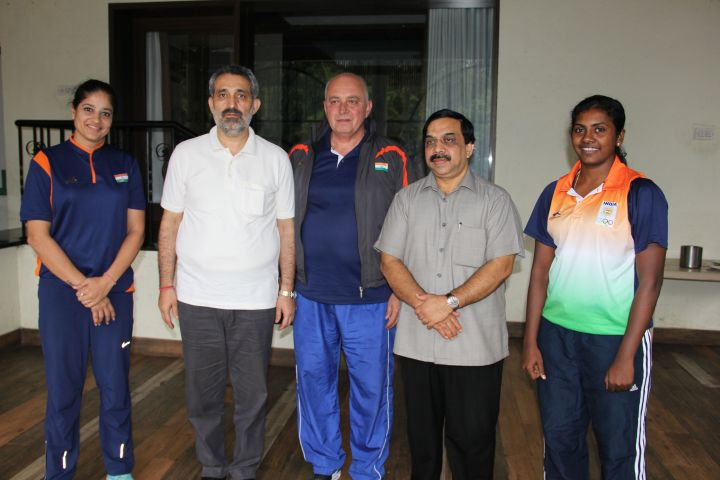 L_to_R_Coach_Shiba_Maggon__BFI_Secretary_General_Chander_Mukhi_Sharma__Coach_Zoran_Visic__BFI_Presid_1716548