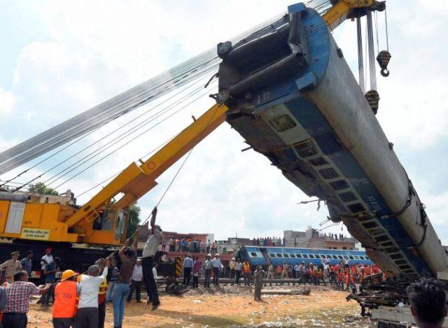 Rail derailment