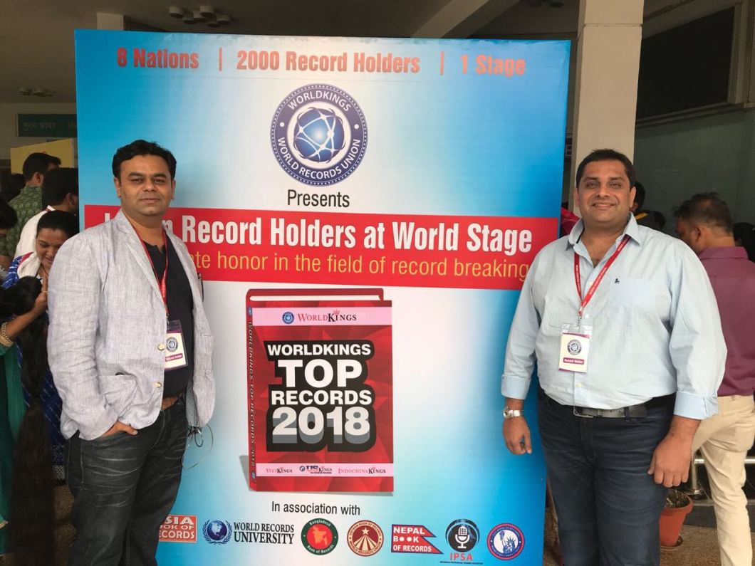 Mr._Nishant_Patel_and_Mr._Mit_Bhatt__received_award_at_the_India_Book_of_Records