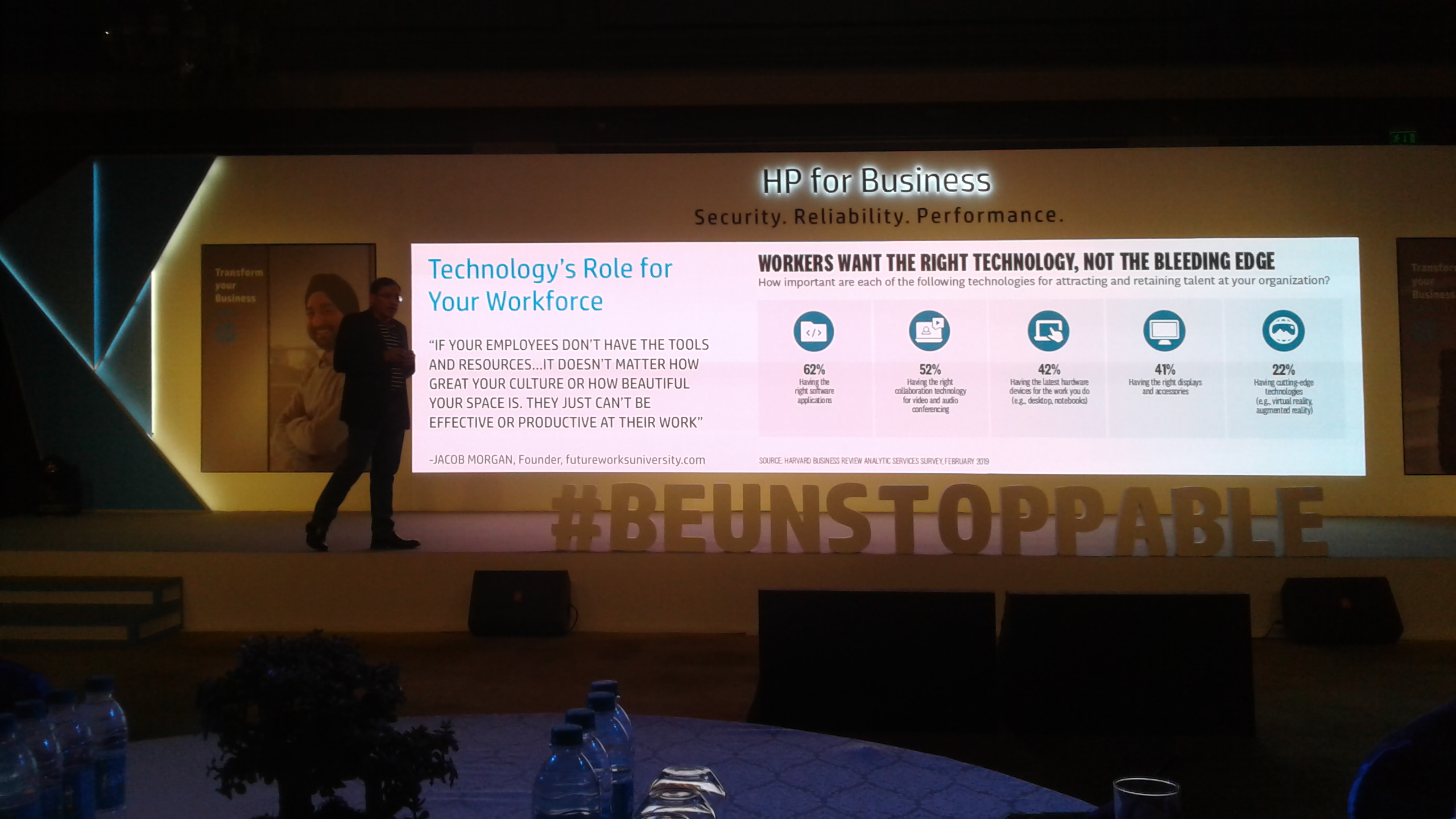 Be Unstoppable HP Forum Great Success – Sagar Media inc