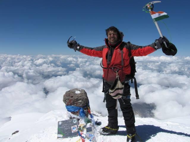 Mountaineer Satyarup Siddhanta enters 'Limca Book of Records ...